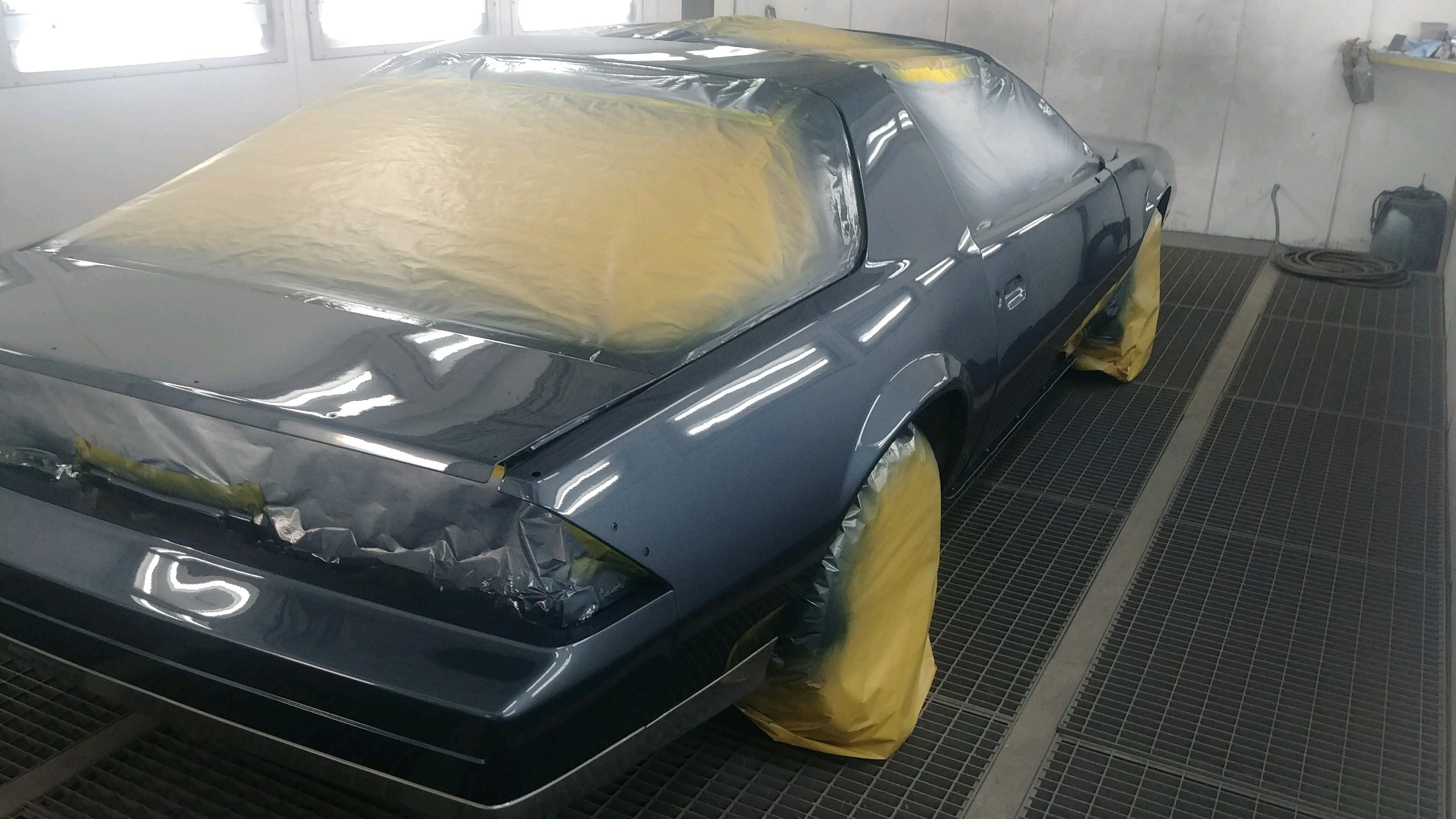 All over paint job - during